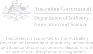 Supported By The Australian Government Logo