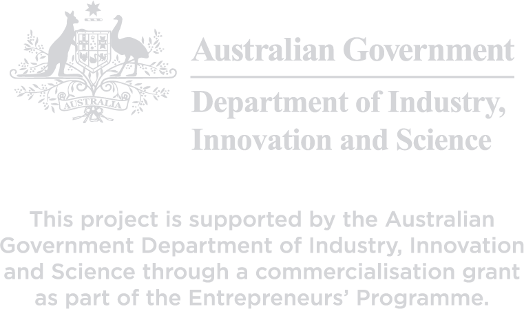 This project is supported by the Australian Government